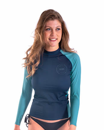 Jobe Rash Guard Longsleeve Women Midnight Blue
